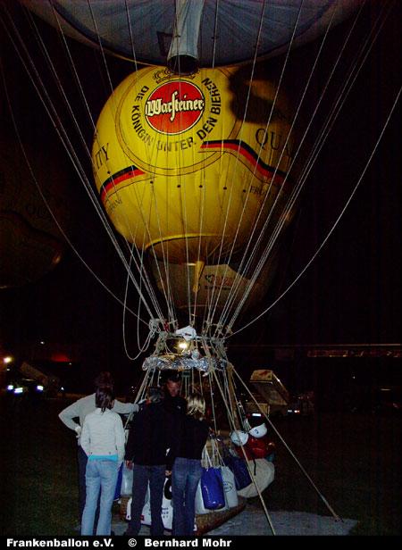 Gasballonweltmeisterschaft 2004 in Bitterfeld