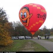 """Jungfernfahrt des """"Wecki"""" Ballons"""
