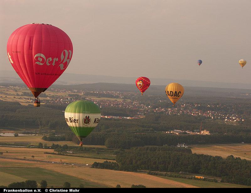 Ballonmeeting 2005 bei Hannberg