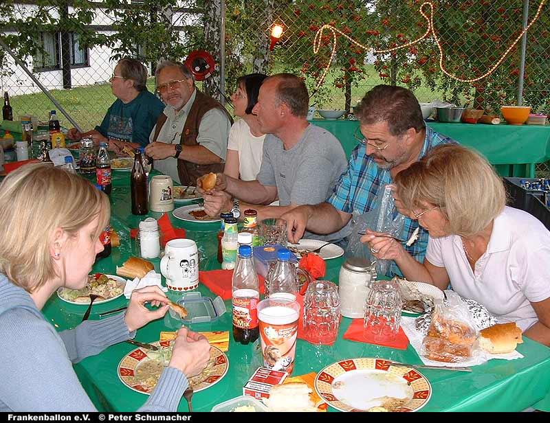 Sommerfest des Frankenballon im Jahr 2006