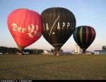 Ballonfahrt vom Flugplatz Burg Feuerstein in der Fränkischen Schweiz
