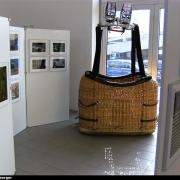 Ballonkorb in der Ausstellung des Autohauses Pillenstein in Fürth