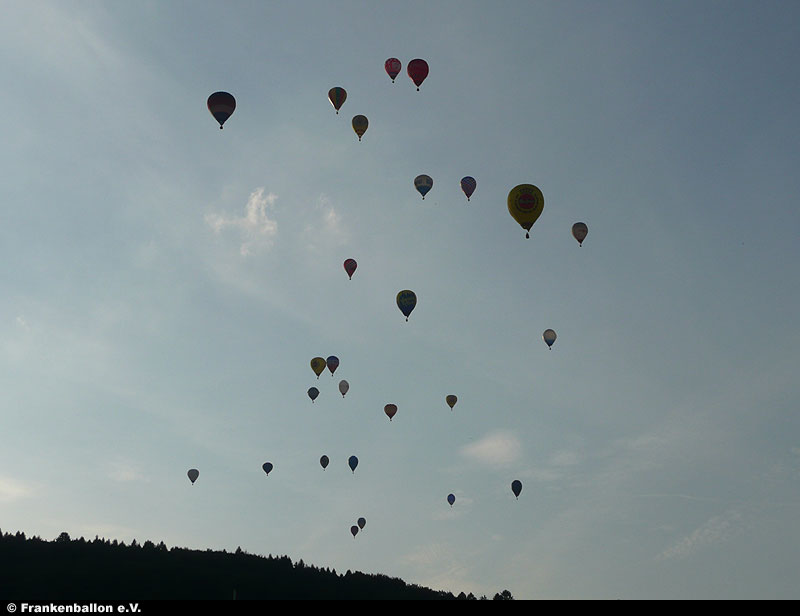 World Balloon Trophy 2008 in Luxemburg