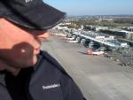 Ballonstart vom Vorfeld des Flughafen Nürnberg