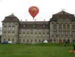 Start beim Schloss Weißenstein in Pommersfelden