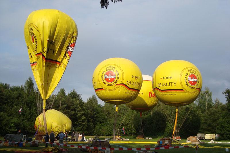 Deutsche Meisterschaft für Gasballone 2011 in Burgkirchen