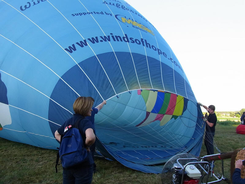 Ballonmeeting 2012 in Hannberg