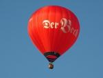 Ballontaufe des neuen Beck-Ballons