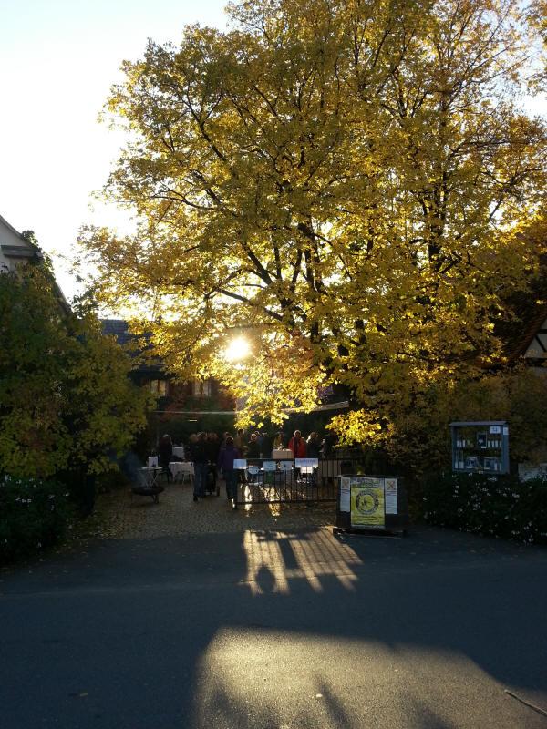 Fahrt in den Goldenen Oktober 2012