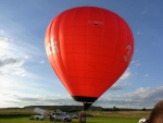 Fallschirmsprung aus dem Ballon