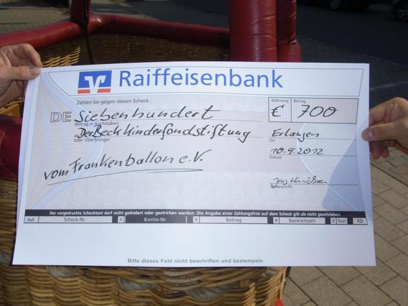 """Spende an """"Der Beck""""-Kinderfonds"""