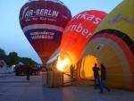 Ballonglühen am Nürnberger Frühlingsfest 2014