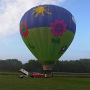 Ballonfahrt von Dobenreuth mit Frauenpower