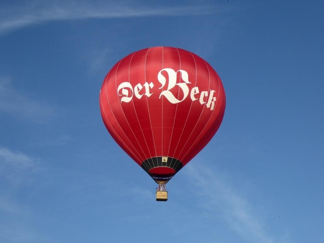Heißluftballon von Der Beck