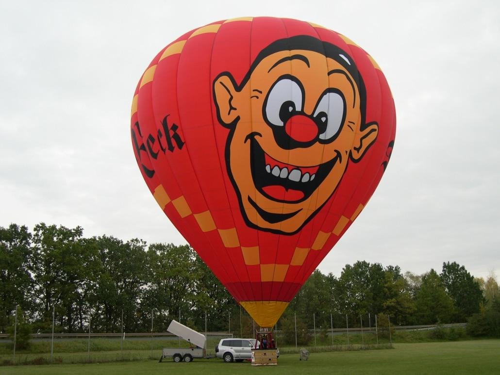 """Heißluftballon """"Wecki"""" von Der Beck"""