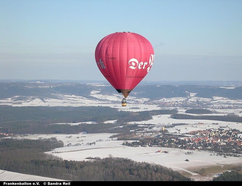 Winterfahrt mit dem Beck-Ballon